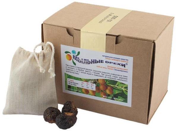 Как мыльные орехи могут заменить всю бытовую химию в доме?